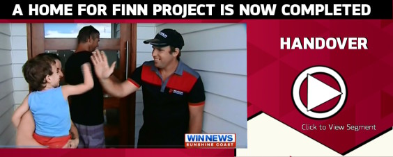 A HOME FOR FINN HANDOVER